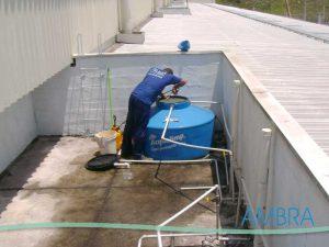 CLI - Limpeza do Reservatório de Água